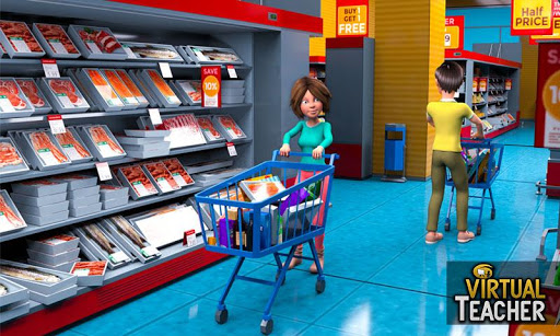 Virtual Girl High School Teacher: Happy Family Fun 1.0.8 screenshots 2