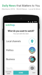 Watchup: Video News Daily Screenshot 4