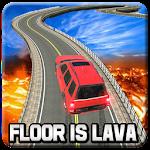 Impossible Prado Stunts on Lava Floor Tracks 3d Icon