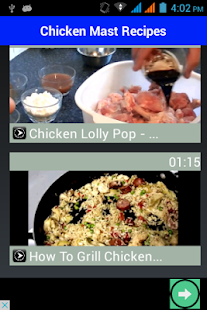 Chicken Recipes 2017- screenshot thumbnail