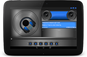 Screenshot of BoomCap Music Player