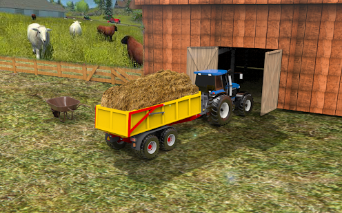 Classic Farming Mania – Tractor Harvester - náhled