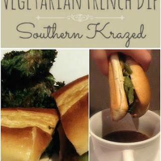 Vegetarian French Dip & Sandwich