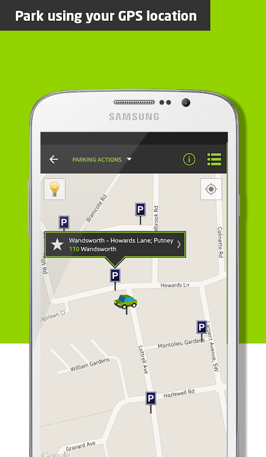 Parkmobile Parking- screenshot