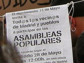 Photo: Puerta del Sol, Madrid, Movimiento 15-M, 21 de mayo de 2011, a8