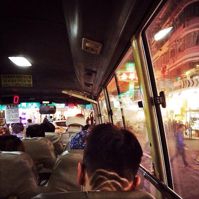 Hong Kong, Minibus,  香港, 小巴