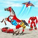 Horse Robot Drone Transform icon