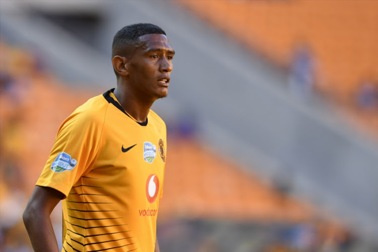 Mario Booysen of Kaizer Chiefs during the Telkom Knockout Last 16 match Kaizer Chiefs and Black Leopards at FNB Stadium on October 21, 2018 in Johannesburg, South Africa.