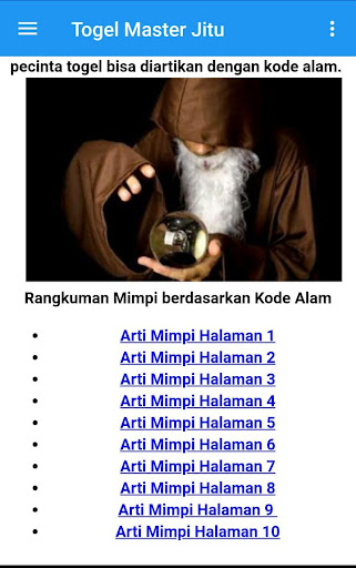 Togel Master Jitu-Prediksi Akurat 1.15 screenshots 3