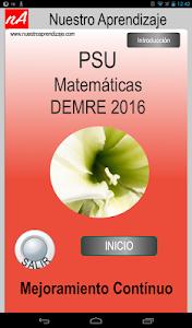 PSU Matemática Prueba Ensayo screenshot 8