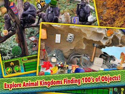Hidden Object Animals Kingdom- screenshot thumbnail
