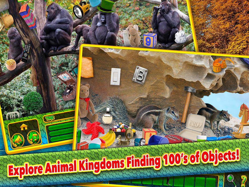 Hidden Object Animals Kingdom- screenshot