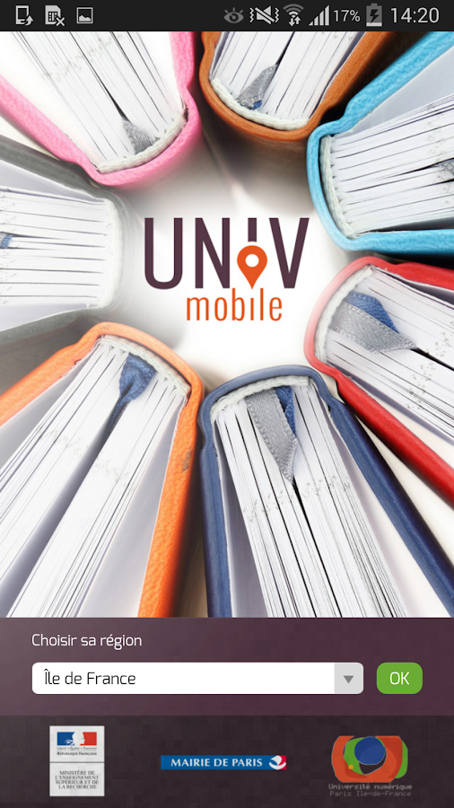 UnivMobile- screenshot