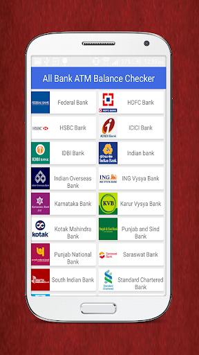 All Bank ATM Balance Checker