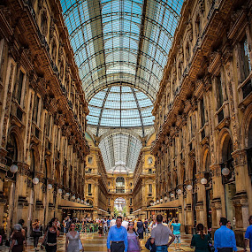 by Ben Cunningham - Buildings & Architecture Public & Historical ( holiday, milan, summer, duomo, italy )