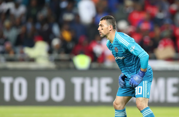 Wayne Sandilands made an error that cost Orlando Pirates the full three points during the Absa Premiership match against Highlands Park at the Orlando Stadium, Soweto on 04 August 2018.