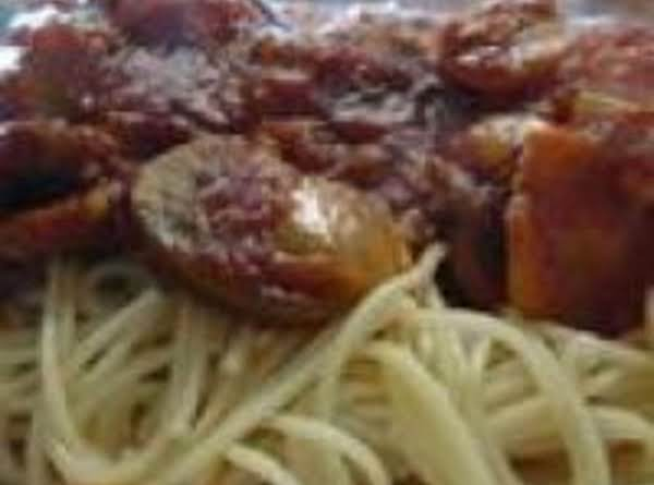 Chicken Cacciatore Crockpot Meal