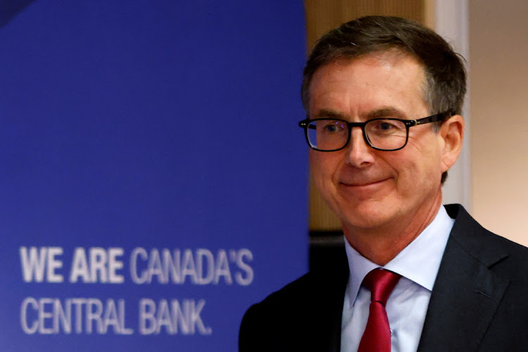 Bank of Canada governor Tiff Macklem. Picture: BLAIR GABLE/REUTERS
