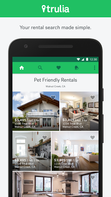 Trulia Rent Apartments & Homes - screenshot