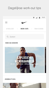 Nike Training Club – Work-outs & fitnessschema's: miniatuur van screenshot