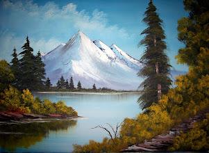 """Photo: 1310 Mountain Summit. Oil on canvas. Frame: no. Price: 18"""" x 24"""" $229.00"""