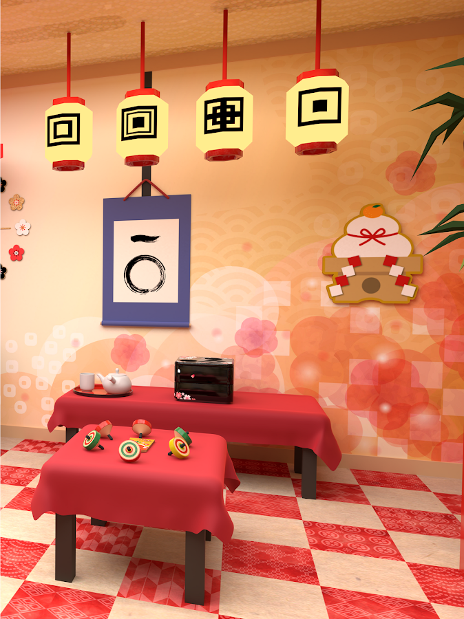 Escape New Year's Room- screenshot