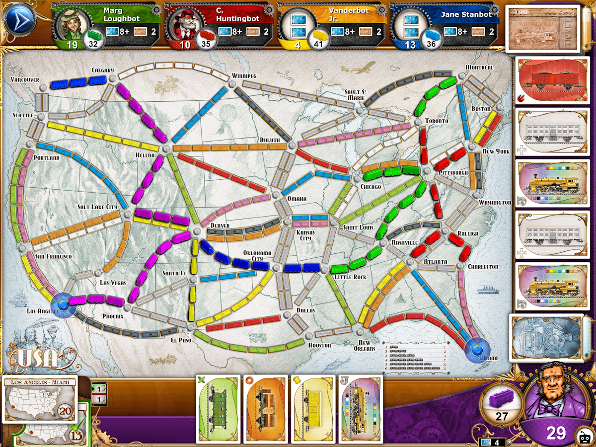 ticket to ride android apps on google play ticket to ride screenshot