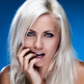 Jenni by Riaan Www.rampix.co.uk - People Portraits of Women ( art nude, blonde, lingerie, rampix photography, jenni czech, blue eyes, @rampix_mk, saracen, #rampix,  )