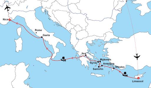 Grèce croisière