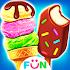 Ice Cream Cone& Ice Candy Bars Mania
