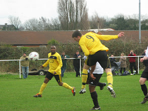Photo: 17/03/12 v Nottinghamshire Police (Central Midlands League Div South) 4-1 - contributed by Leon Gladwell