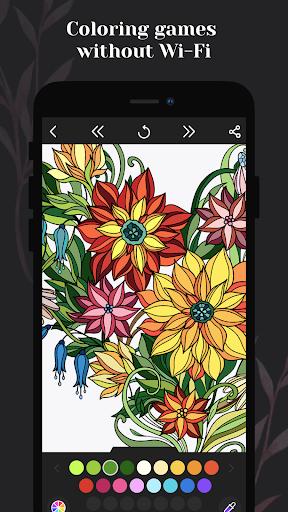 Coloring book for me - Mandala & Antistress 2.2.2.17 screenshots 4