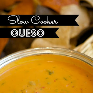 Slow Cooker Queso Dip.
