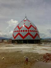 Photo: Kubah Enamel Pasar Pinrang