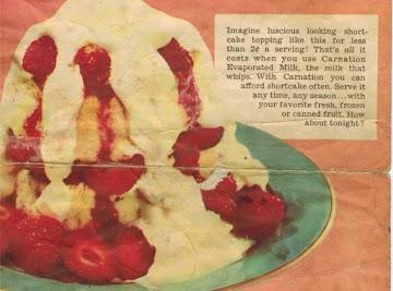 Old-fashioned Shortcake Recipe