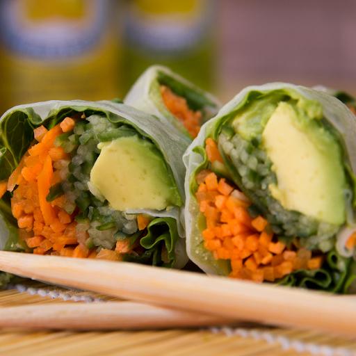 Veggie Spinach Roll