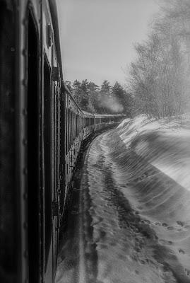 Inverno sulla Transiberiana d'Italia di Elebrusco