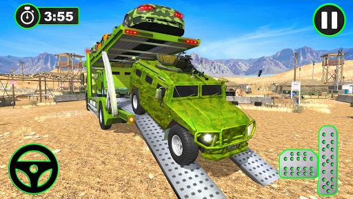 Army Vehicles Transport Simulator:Ship Simulator screenshot 7