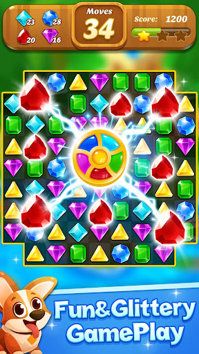 Jewel & Gems Mania 2020 - Match In Temple & Jungle apktram screenshots 1