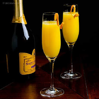 Mimosa Cocktail.