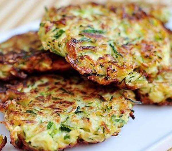 Zucchini Latkes (sallye) Recipe
