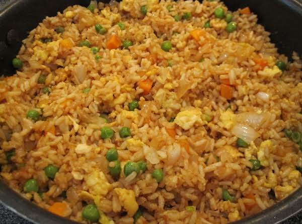 Easy Chicken Fried Rice Just A Pinch Recipes