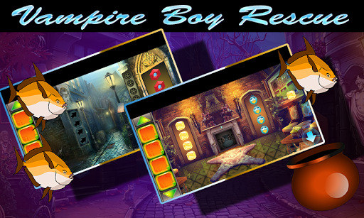 Best Escape Game 433 Vampire Boy Rescue Game 1.0.0 screenshots 2