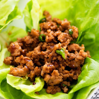 Minced Chicken Lettuce Wraps Recipes