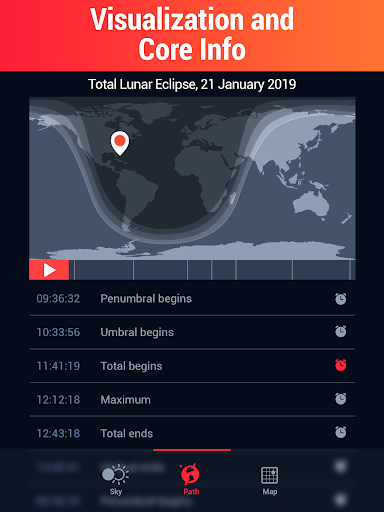 Screenshot for Eclipse Guide - Discover Solar and Lunar Eclipses in United States Play Store