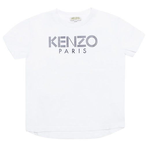 Primary image of Kenzo Kids Logo Cotton T-shirt