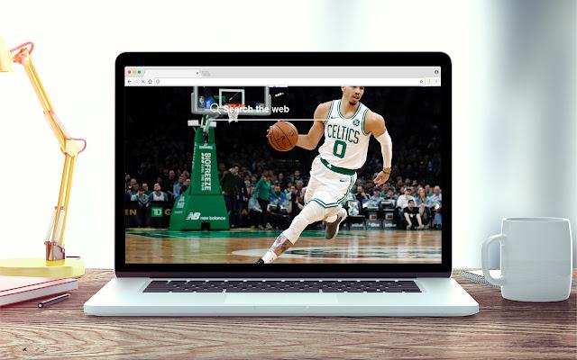 Jayson Tatum New Tab NBA Theme