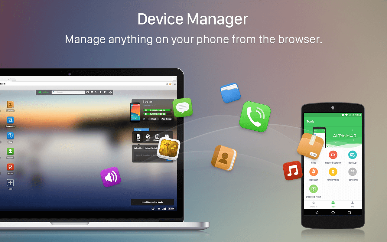 AirDroid: Remote access & File- screenshot