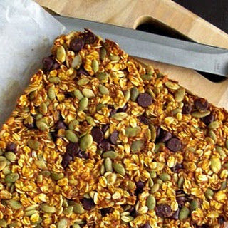 Fall Pantry Granola Bars