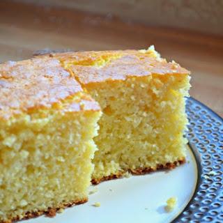Sweet & Buttery Corn Bread